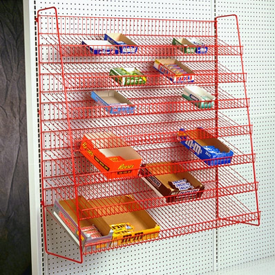 Wire Candy Rack for Gondola or End display